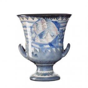 W. Hentschel; Rookwood Large Jewel Porcelain Urn