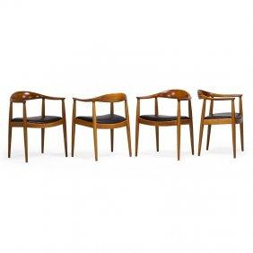 Hans Wegner; Johannes Hansen Four The Chair