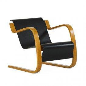 Alvar Aalto; Artek Cantilever Lounge Chair