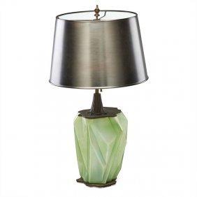 Reuben Haley Rare Ruba Rombic Lamp