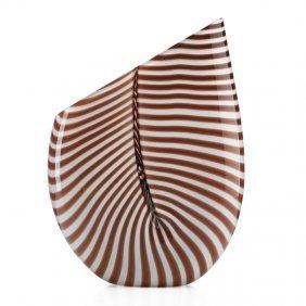 Lino Tagliapietra; Effetre Glass Vase