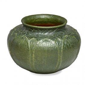 Ruth Erickson; Grueby Fine Vase