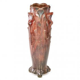 Raoul Lachenal Rare Vase