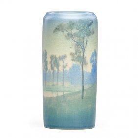 C. Mclaughlin; Rookwood Scenic Vellum Vase