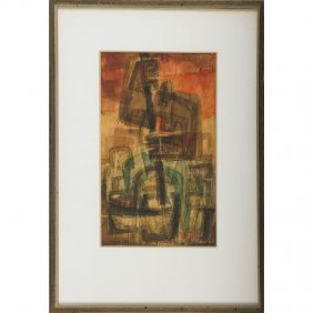 Frederic Weinberg Two Works On Paper