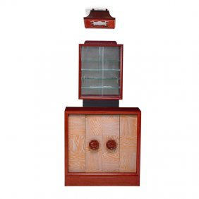 James Mont Bar Cabinet, Wall Cabinet, And Ceiling