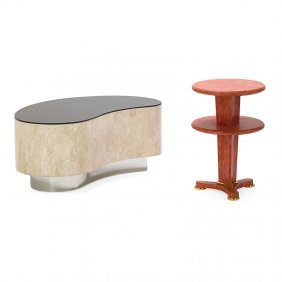 Ron Seff Two Occasional Tables