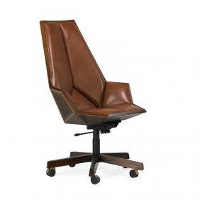 Pierre Paulin; Baker Rare Office Chair