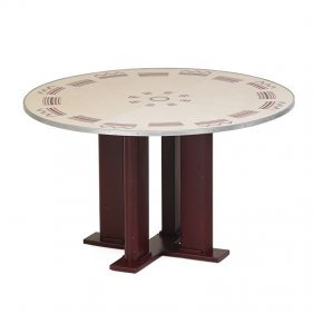 Jean Prouve; Jules Leleu Dining Table
