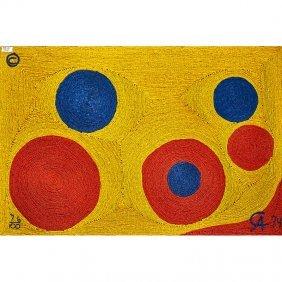 After Alexander Calder Wall-hanging Tapestry