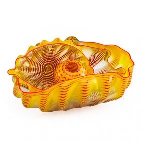 Dale Chihuly Four-piece Seaform Set