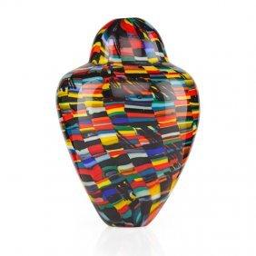 Michele Burato Blown Glass Vase