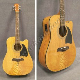 54 samick model sw 210 ce cut away electric guitar lot 54. Black Bedroom Furniture Sets. Home Design Ideas