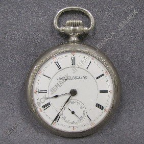 340 Vintage Hampden Watch Co 21 Jewel Pocket Watch Lot 340