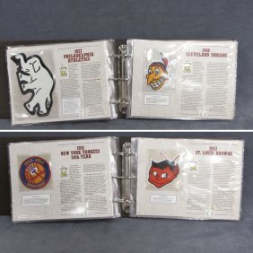 WILLABEE & WARD ALBUM � BASEBALL PATCHES