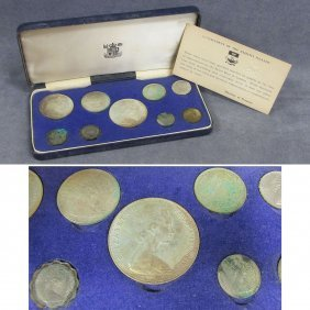 1966 ROYAL MINT BAHAMAN ISLANDS (9) COIN SET