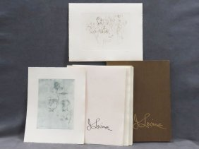 Jack Levine (american 1915-2010) Suite Of (25) Soft