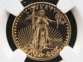 2010 American Buffalo Early Release $10.00 Gold Coin.