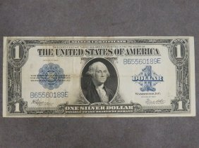 Series 1923 Large $1.00 Silver Certificate Note