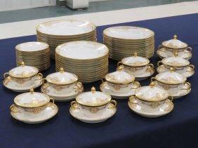 Lot (55) Rosenthal/dresden Gilt Decorated Porcelain