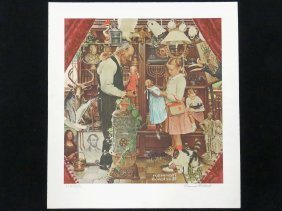 Norman Rockwell (american 1894-1978), Lithograph,