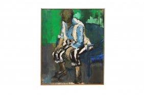 Harriett Bromberg (american 20th/21st Century), Acrylic