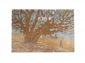 Wihelm Wachtel (american/israel/poland 1875-1952), Oil