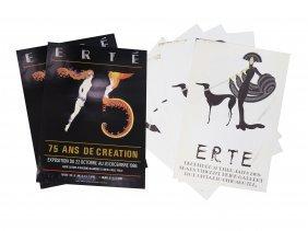 Erte (romaine De Tirtoft French/russian 1892-1990), Lot