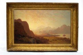 Howard Russell Butler (american 1856-1934) Oil On