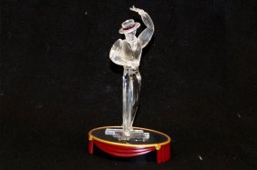 Swarovski Crystal Figure, Flamenco Dancer. Height 10""