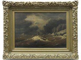 Frederick Seeth (american 1845-1929), Oil On Canvas,