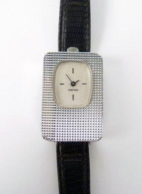 A Ladies Pierre Balmain Mechanical Strap Watch, C.1