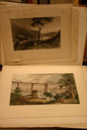 ~74 Lithos/engravings: Landscape & Sites In South