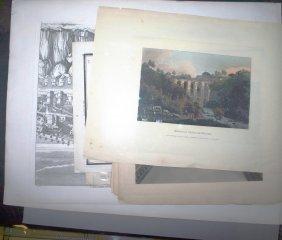 ~15 Prints: Greek Architecture & 18th-19th Centur