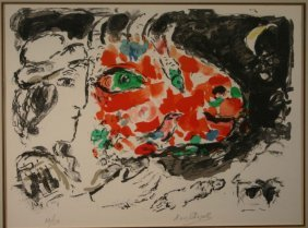 Marc Chagall, ''After Winter,'' Sgd, #32 Of 150.