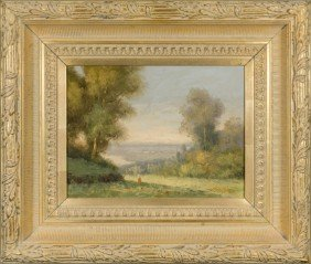 "Pair Of 20thC O/c Landscapes Signed ""L Stephano""."