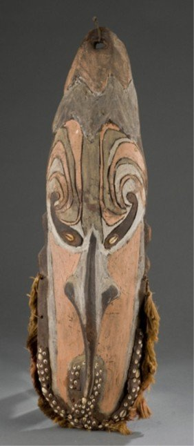 Iatmul Tribe Mask From Papua New Guinea.