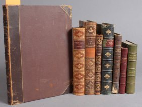8 Books: Goldsmith, James Russell Lowell, Others.