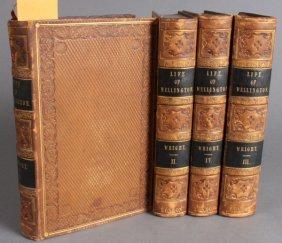 G. N. Wright. ARTHUR, DUKE OF WELLINGTON. 4 Vols.