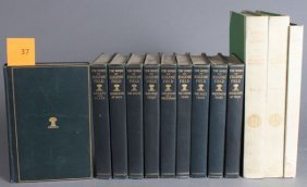 13 Vols: Eugene Field, Robert Louis Stevenson.