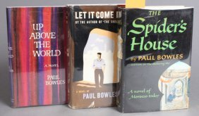 3 First American Editions By Paul Bowles.