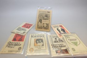 24 Blackface Plays & Sketches W/ Stage Makeup Kit