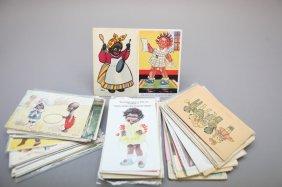 200+ Black Memorabilia Foreign Postcards
