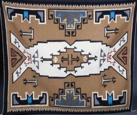 Large Navajo Rug.