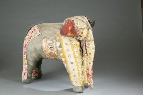 Indian Patchwork Cloth Elephant.