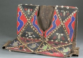 Beaded West African Vest. 20th Century.