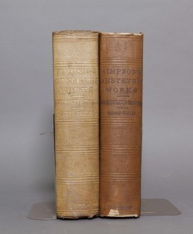 Simpson. The Obstetric Memoirs... 2 Vols. 1855-56.