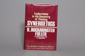 Synergetics. Sgd, Inscribed By Buckminster Fuller.