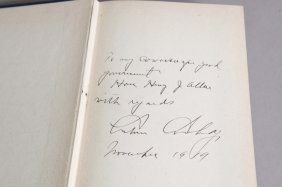 Inscribed By Coolidge: Have Faith In Massachusetts