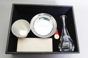 Nancy Reagan Bowl, Cup, Vase, Pen & Bookmark